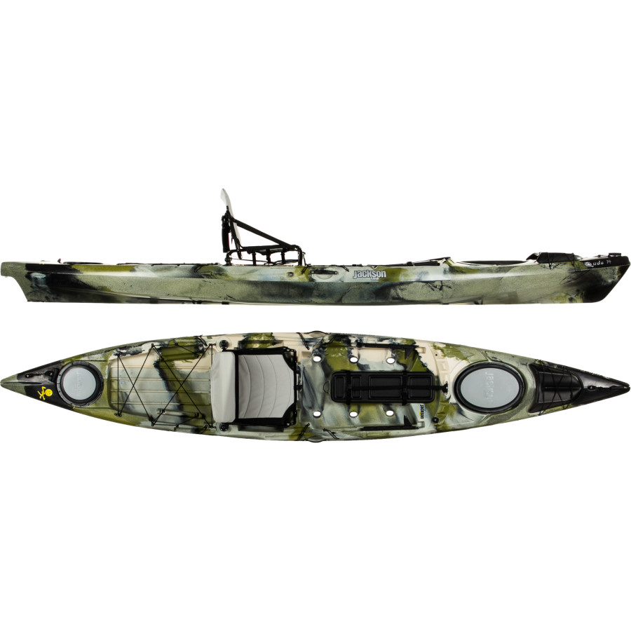 Jackson kayaks cuda 14 fishing kayak for Used fishing kayak