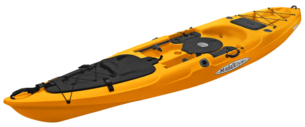 Malibu stealth 14 fishing kayak for Fishing kayak brands