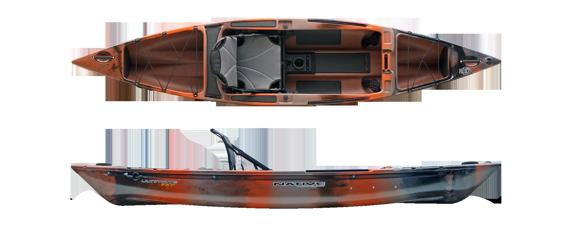 Native watercraft ultimate fx 12 fishing kayak for Native fishing kayak