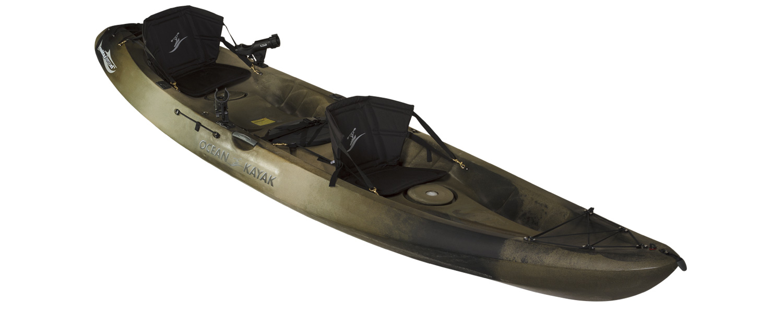 Ocean kayaks malibu two xl angler fishing kayak for Ocean fishing kayaks