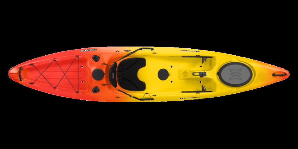 Perception kayaks pescador 12 0 fishing kayak for Perception fishing kayak