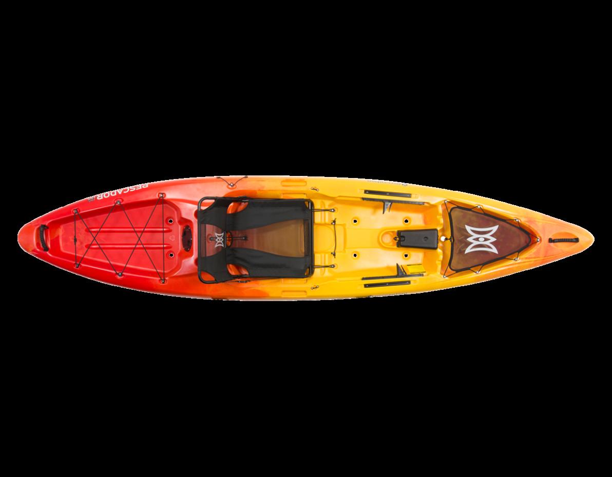 Perception kayaks pescador pro 120 fishing kayak for Perception fishing kayak