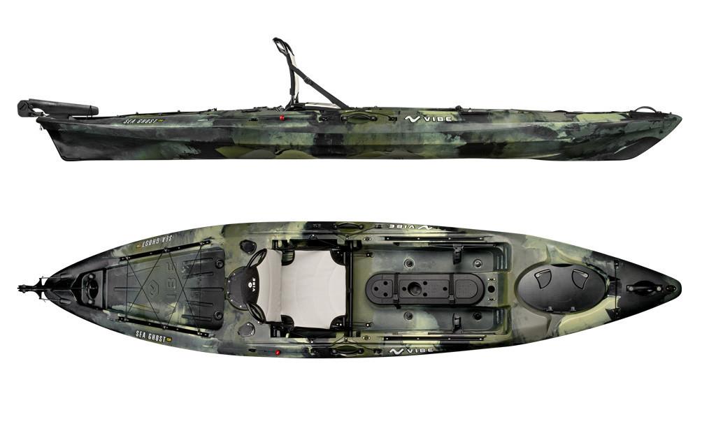 Vibe kayaks sea ghost 130 fishing kayak for Vibe fishing kayak
