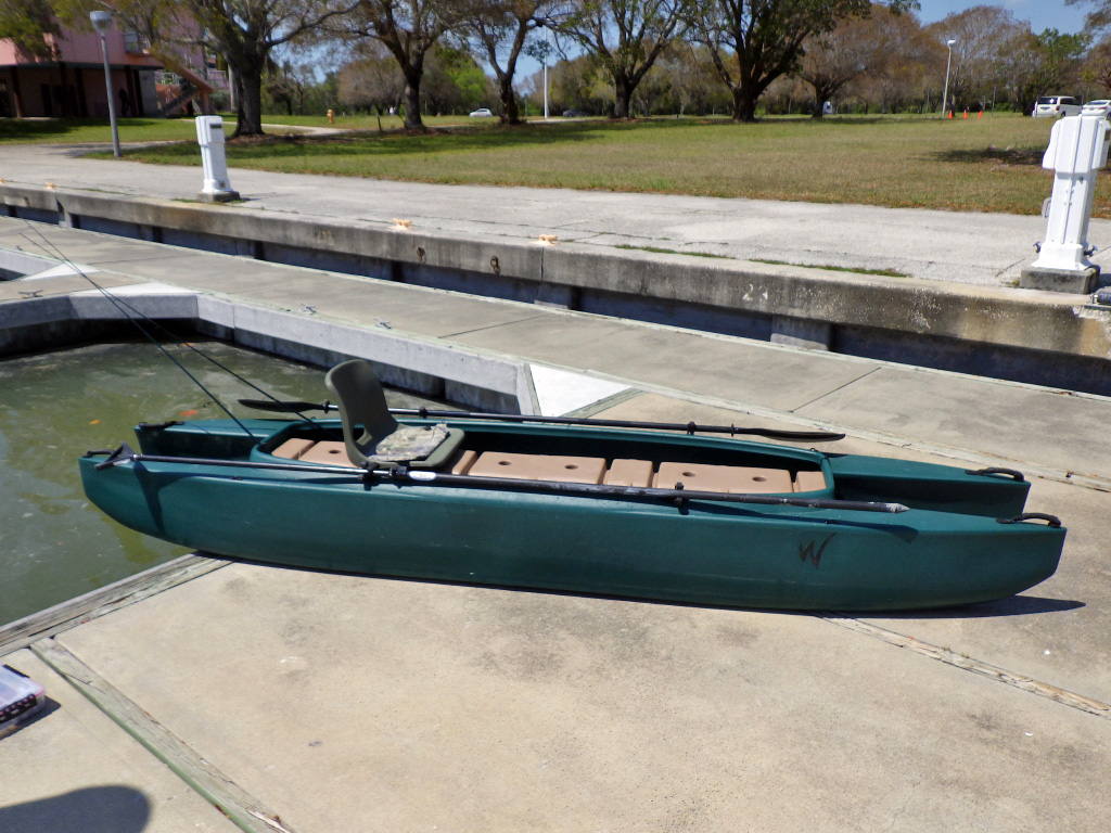 Wavewalk 700 fishing kayak for Used fishing kayak