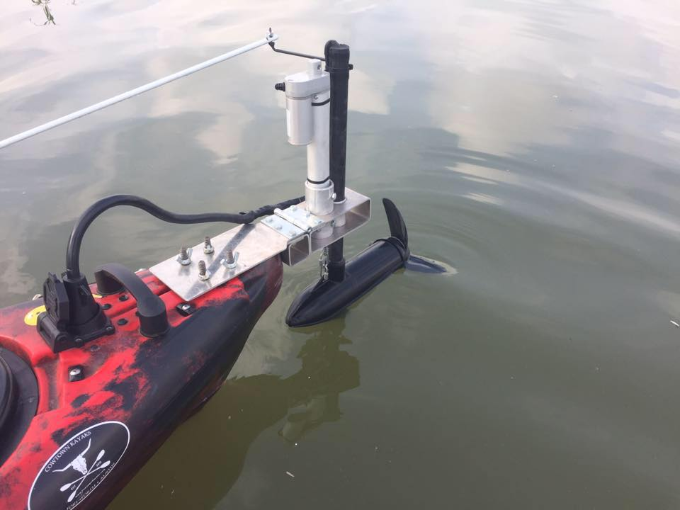Adding A Trolling Motor To Your Kayak Fishingyaks
