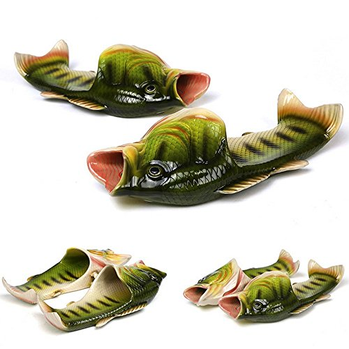 3 colors Fish slippers