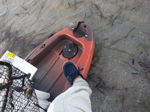 SoftScience Shoes and Kayak Fishing