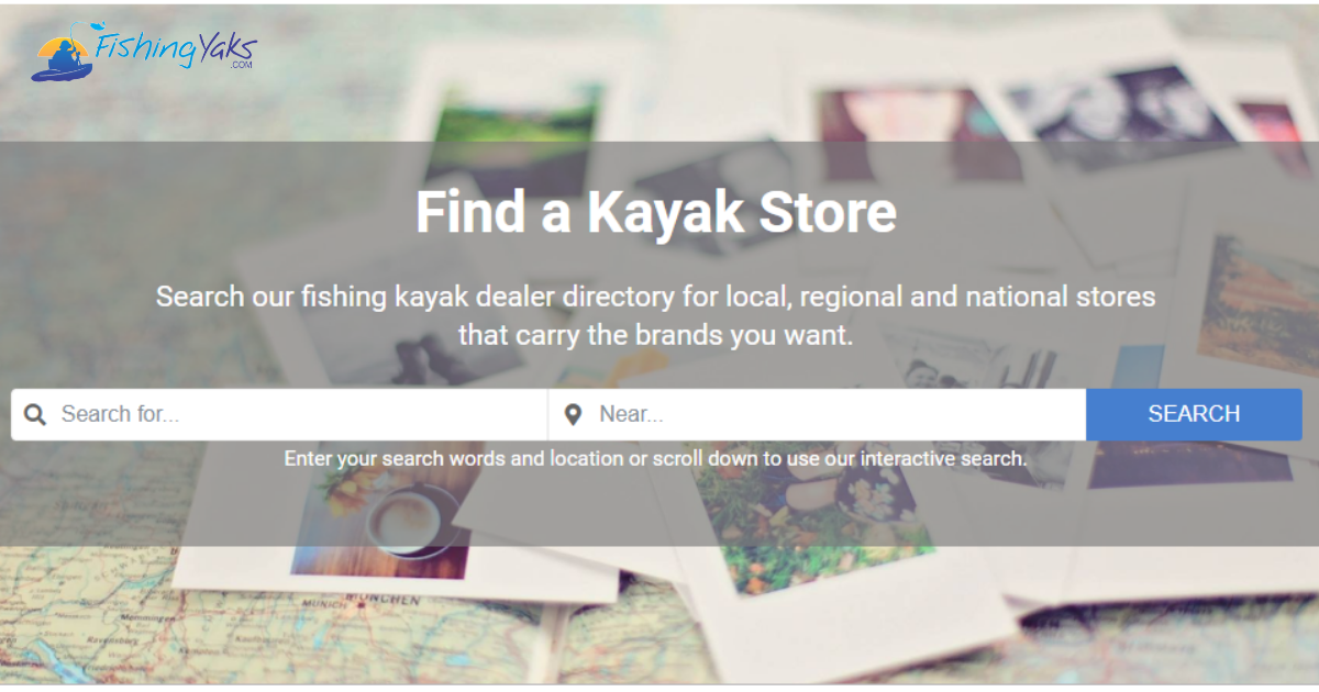 Search for Kayak Stores by Brand - FishingYaks